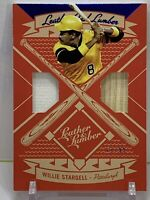 WILLIE STARGELL 2019 Leather and Lumber Jersey-Bat Relic Blue Top #LLD-WS #61/99