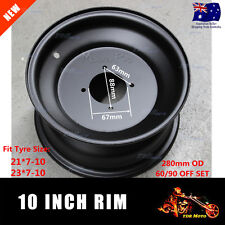 10 Inch Front Steel Rim Wheel fits 21x7-10 23x7-10 Tyres Buggy Trailer ATV Quad