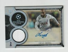 2018-19 Topps Champions League Museum Auto card :Lucas Moura #69/99