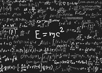 A1| Math Equations Poster Print A1 Size 60 x 90cm Blackboard Wall Gift #14903