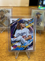 2020 Topps Fire Dustin May #110 RC Rookie Los Angeles Dodgers