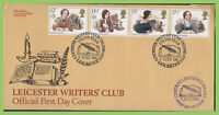 G. B. 1980 Famous Authors set on Bradbury First Day Cover, Leicester Writers Clu