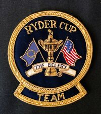 2002 Ryder Cup Crest Team Patch Shield The Belfry England Europe Wins