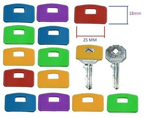 Large Rubber Key Caps Top Cap Coloured Covers Plastic Cover Tag Door Identifier