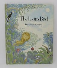 Vintage Kids Book Xerox THE LION'S BED Dianne Redfield Massie