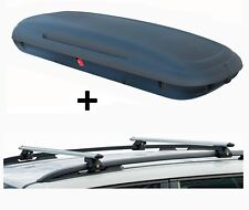 vdpca480 Coffre de toit 480L LOOK CARBONE + Galerie pour véhicules crv135 BMW