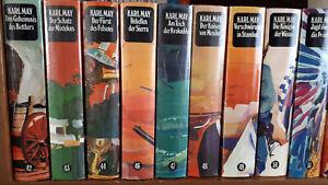 30 Karl May Bücher sehr guter Zustand gebundene Ausgaben