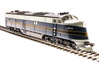 BROADWAY LIMITED 5398 HO SCALE E6 A-unit B&O #58 Paragon3 Sound/DC/DCC