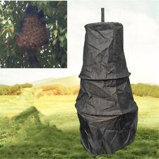 Black 3 Layers Beekeeper Bee Cage Swarm Trap Swarming Catcher Beekeeping Tool