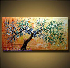 MODERN ABSTRACT CANVAS ART WALL DECOR OIL PAINTING-TREE(NO FRAME)