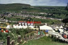 PHOTO  1992 NATIONAL GARDEN FESTIVAL EBBW VALE APPROXIMATE LOCATION BY THE SIDE