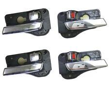 Set 4 Left Right Inside Door Plating handle for KIA Rondo Carens 2007-2012