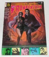 Castle Of Frankenstein #16 Monster Horror Magazine July 1971 Dark Shadows Cover