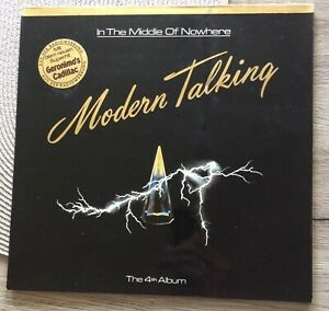 Modern Talking , In the Middle of Nowhere, LP, the 4th Album