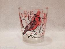 12-oz Sour Cream/Peanut Butter Glass: Cardinal