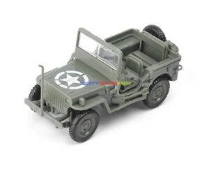 1PC 1/48 WWII USA Jeep Willys MB Vehicle America Plastic Kit Model Color Choose