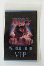 KISS Laminated VIP Backstage Tour Pass - 1989 HOT IN THE SHADE WORLD TOUR