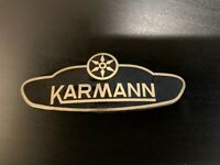 VW Beetle Bug 1303 1302 Convertible Cabriolet Karmann Badge Emblem Brand New
