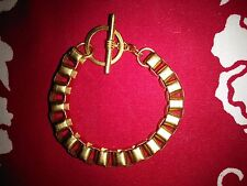 Vintage Toggle Bracelet - Gold Toned