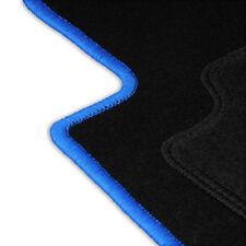 BLAUE LAGUNE Velours Matten Autoteppiche Fußmatten Blau VW POLO 9N 9N3 IV 02-09