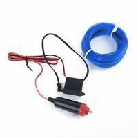 Luci al neon della lampada della luce fredda blu del cavo interno auto LED