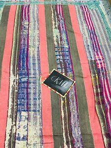 Kantha Quilt Indian Vintage Reversible Throw Handmade Blanket Wholesale Lot Twin