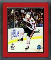 "Jonathan Toews Chicago Blackhawks Stanley Cup Photo (12.5"" x 15.5"") Framed"
