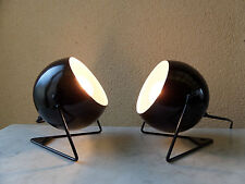 LAMPE APPLIQUE EYEBALL Design Moderne Style Vintage Tôle Laquée NEUF 6 Dispo.