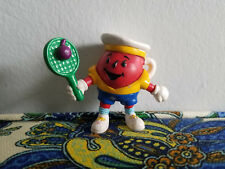 Vintage Kool-Aid Man PVC Mini Figure 80s 90s Kraft Drink Red Tennis Pitcher Ad