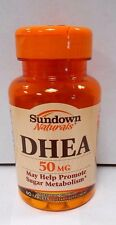 Sundown Naturals DHEA 50mg  60ct- Exp. Date 03-2018