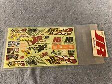 Vintage JR Radio Decal Sheet
