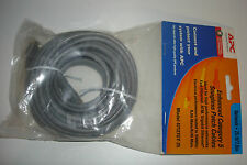 APC Patch cable RJ-45 (M) 25 ft UTP CAT 5e Snagless Gray (47127GY-25) New in Bag