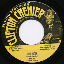 Clifton Chenier NEW 45 Cher Catin / You're My Mule