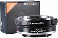 K&F Concept Lens Adapter for Canon FD FL Lens to Sony E-Mount NEX Alpha Camera