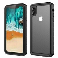 For iPhone Xs Max Xr X 7 8 Plus Underwater Shockproof Dirt Waterproof Case Cover