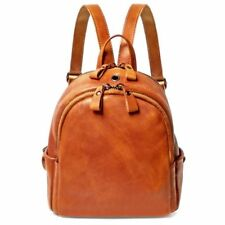 Women's Genuine Leather Backpack Travel Bag Handbag 5Colors
