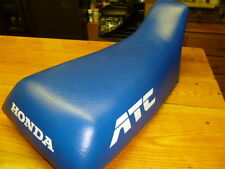 A86 HONDA ATC250R ATC 250 R 250R 1986 86 SEAT SADDLE SEAT W/ NEW BLUE COVER 85