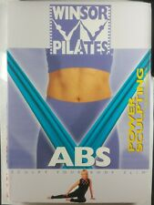 Mari Winsor Pilates Abs Power Sculpting with Resistance Dvd Excercise Fitness