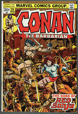 CONAN THE BARBARIAN  24  VF/8.0  -  1st full appearance and cover Red Sonja!