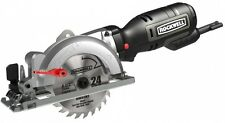 Compact Circular Saw 4 -1/2 In. 5 Amp Lightweight Cut Wood Electric Corded New