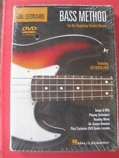 HAL LEONARD BASS METHOD DVD FOR THE BEGINNING ELECTRIC BASSIST  NEW