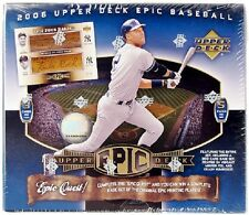 2006 Upper Deck Epic MLB Baseball Hobby Box