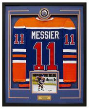 Mark Messier Edmonton Oilers Signed CCM® Mass 35x43 Framed Hockey Jersey 96c9f5c8a