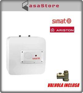 SCALDABAGNO ARISTON SIMAT ELETTRICO 10 LT SOTTOLAVELLO BOILER SCALDINO 3100765