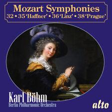 Mozart: Symphonies 32, 35 Haffner, 36 Linz and 38 Prague [New CD]