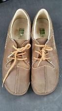 El Natura Lista El Naturalista Men Brown Bark Leather Oxford Shoe Shoes Size 44