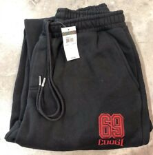 BRAND NEW Coogi Sweatpants In Black/Red Sz. M NWT 100% Authentic!