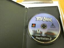 test drive ps 2 DISK ONLY WORKS.