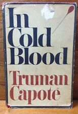 Truman Capote In Cold Blood 1st Edition 1st Printing Dust Jacket 1965