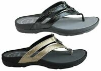 Brand New Scholl Orthaheel Tonga Ii Womens Supportive Comfortable Thongs Sandals